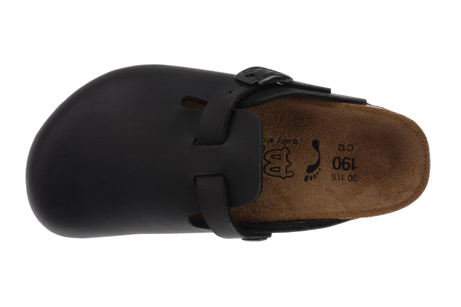 Sandals Birkenstock Woodby Birko Flor E Black view from the left